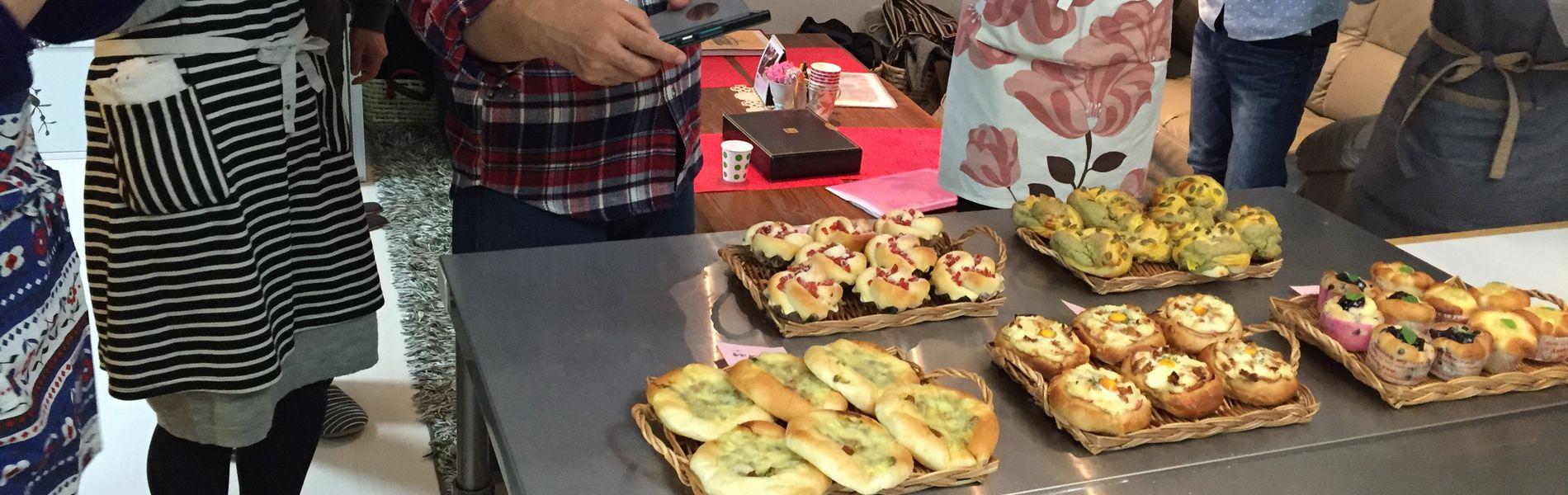 大阪の手作りパン教室froh工房です♪